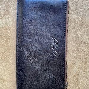 Patricia Nash Black Leather Wallet